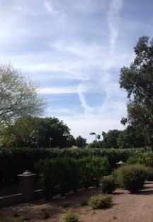blog sky path photo